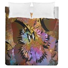 Abstract Digital Art Duvet Cover Double Side (queen Size) by Nexatart
