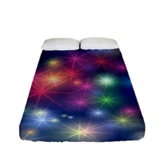 Abstract Background Graphic Design Fitted Sheet (full/ Double Size) by Nexatart