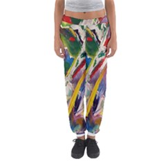 Abstract Art Art Artwork Colorful Women s Jogger Sweatpants by Nexatart