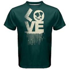Love Dogs   Men s Cotton Tee by FunnySaying