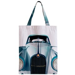 Oldtimer Car Vintage Automobile Zipper Classic Tote Bag by Nexatart