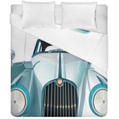 Oldtimer Car Vintage Automobile Duvet Cover Double Side (california King Size) by Nexatart