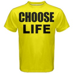 Choose Life -  Men s Cotton Tee by FunnySaying