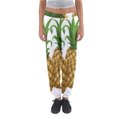 Pineapples Tropical Fruits Foods Women s Jogger Sweatpants