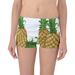 Pineapples Tropical Fruits Foods Reversible Bikini Bottoms by Nexatart
