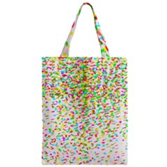 Confetti Celebration Party Colorful Zipper Classic Tote Bag