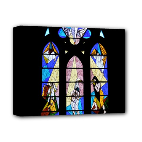 Art Church Window Deluxe Canvas 14  X 11