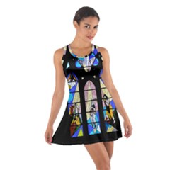 Art Church Window Cotton Racerback Dress