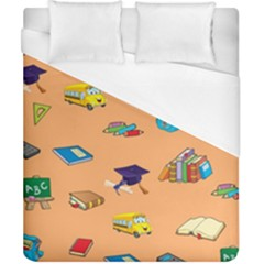 School Rocks! Duvet Cover (california King Size) by athenastemple