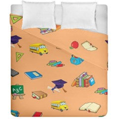 School Rocks! Duvet Cover Double Side (california King Size) by athenastemple