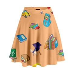 School Rocks! High Waist Skirt by athenastemple
