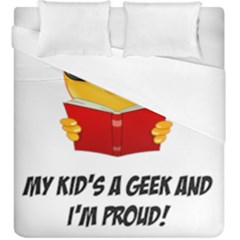 Geek Kid Duvet Cover Double Side (king Size) by athenastemple