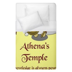 Athena s Temple Duvet Cover (single Size) by athenastemple