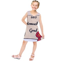2017 Homeschool Grad! Kids  Tunic Dress by athenastemple