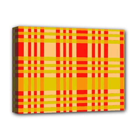 Check Pattern Deluxe Canvas 16  X 12   by Nexatart