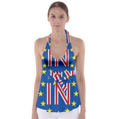 Britain Eu Remain Babydoll Tankini Top