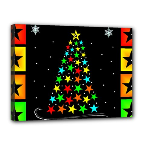 Christmas Time Canvas 16  X 12  by Nexatart