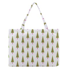 Christmas Tree Medium Zipper Tote Bag by Nexatart