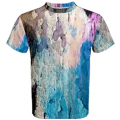Peelingpaint Men s Cotton Tee by digitaldivadesigns