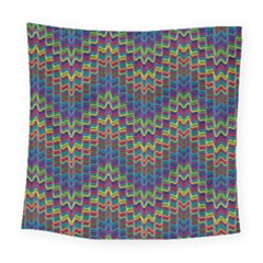 Decorative Ornamental Abstract Square Tapestry (large) by Nexatart
