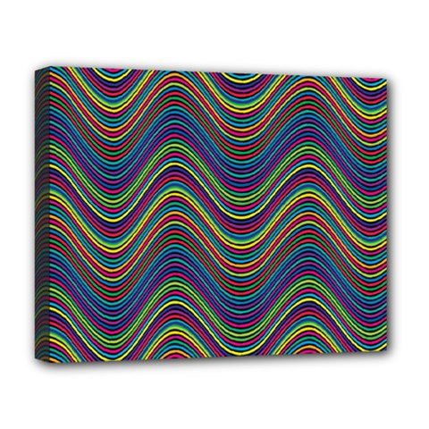 Decorative Ornamental Abstract Deluxe Canvas 20  X 16   by Nexatart