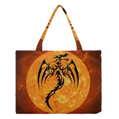 Dragon Fire Monster Creature Medium Tote Bag by Nexatart
