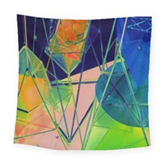New Form Technology Square Tapestry (large) by Nexatart