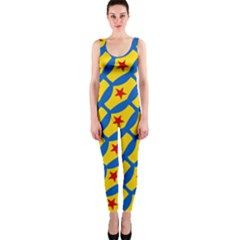 Images Album Heart Frame Star Yellow Blue Red Onepiece Catsuit