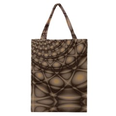 Rocks Metal Fractal Pattern Classic Tote Bag by Jojostore