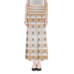 Pattern Retro Background Texture Maxi Skirts