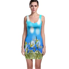 Pisces Underwater World Fairy Tale Sleeveless Bodycon Dress