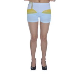 Summer Sea Beach Skinny Shorts by Jojostore