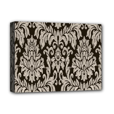 Wild Textures Damask Wall Cover Deluxe Canvas 16  X 12   by Jojostore