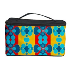 Pop Art Abstract Design Pattern Cosmetic Storage Case