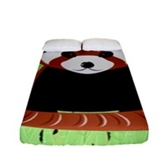 Red Panda Bamboo Firefox Animal Fitted Sheet (full/ Double Size)