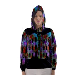 Science Center Hooded Wind Breaker (women)