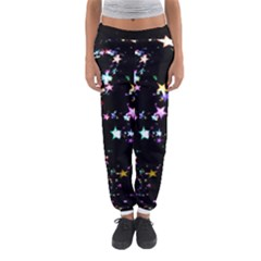 Star Ball About Pile Christmas Women s Jogger Sweatpants