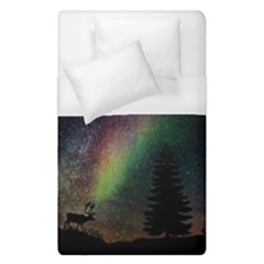 Starry Sky Galaxy Star Milky Way Duvet Cover (single Size) by Nexatart