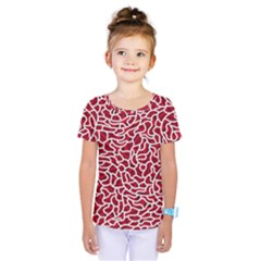 Tangled Thread Red White Kids  One Piece Tee