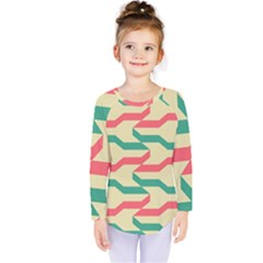 Exturas On Pinterest  Geometric Cutting Seamless Kids  Long Sleeve Tee