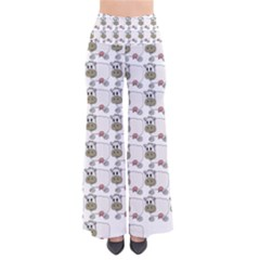 Cow Eating Line Pants