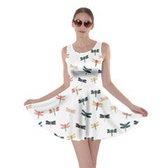 Dragonflies Animals Fly Skater Dress