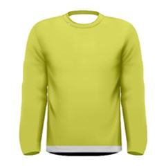 Fun Little Green Wave Men s Long Sleeve Tee