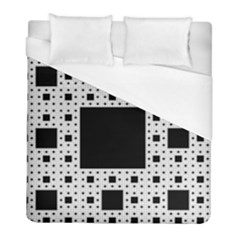 Hole Plaid Duvet Cover (full/ Double Size) by Jojostore