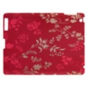 Leaf Flower Red Apple iPad 3/4 Hardshell Case View1