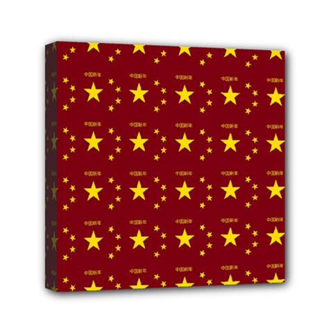 Chinese New Year Pattern Mini Canvas 6  x 6