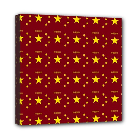 Chinese New Year Pattern Mini Canvas 8  x 8