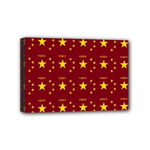Chinese New Year Pattern Mini Canvas 6  x 4