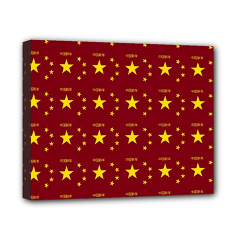 Chinese New Year Pattern Canvas 10  x 8