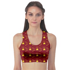 Chinese New Year Pattern Sports Bra